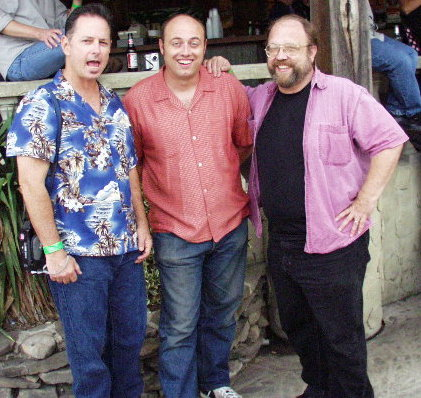 Louie Newmeyer, Deke Dickerson, Bob Newscaster