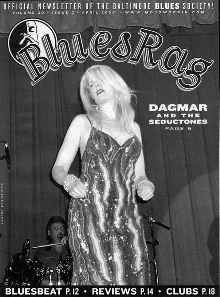 COVER--BLUES RAG