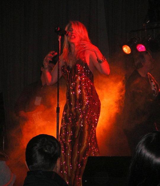 Dagmar on Fire
