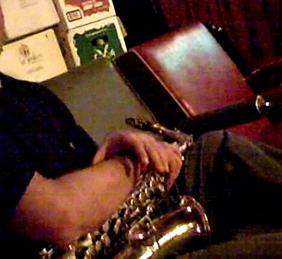 Joseph Abramson on Sax